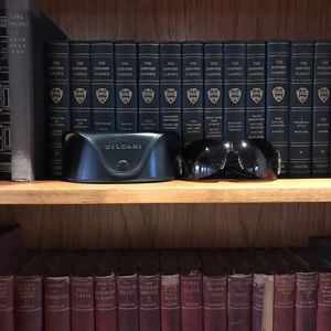 Bvlgari Embellished Sunglasses